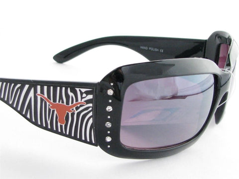 WSunglasses - Texas Longhorns Womens Zebra Sunglasses