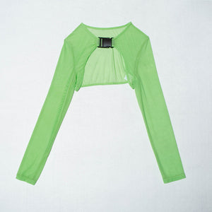 Neon Elf Buckle Top