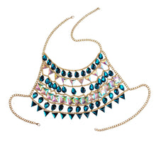Sparkle Warrior Chain Jewelry Top