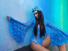 Blue Daisy Lace Bodysuit