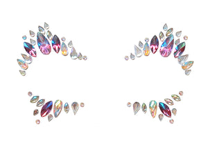 Violet Spell Rhinestone Crystal Face Jewels