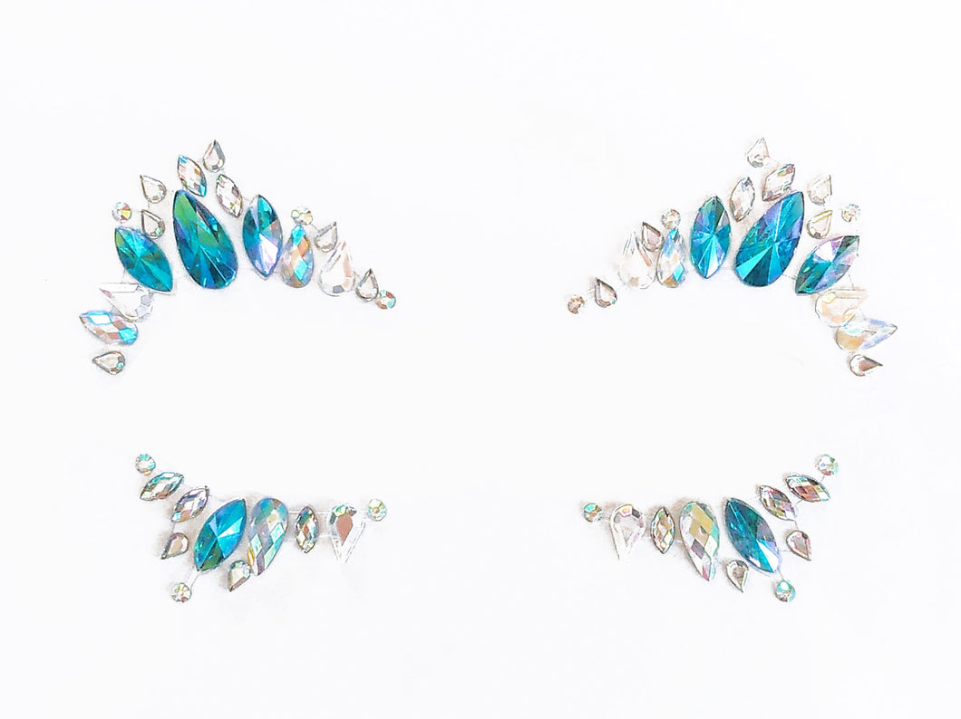 Kawaii Beach Rhinestone Crystal Face Jewels