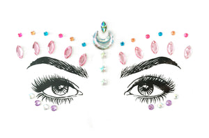 Moon Dust Rhinestone Crystal Face Jewels
