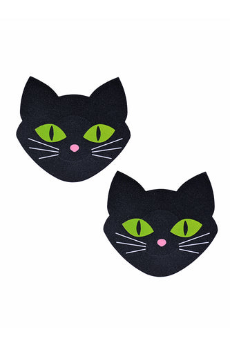 Glow In The Dark Cat Pasties