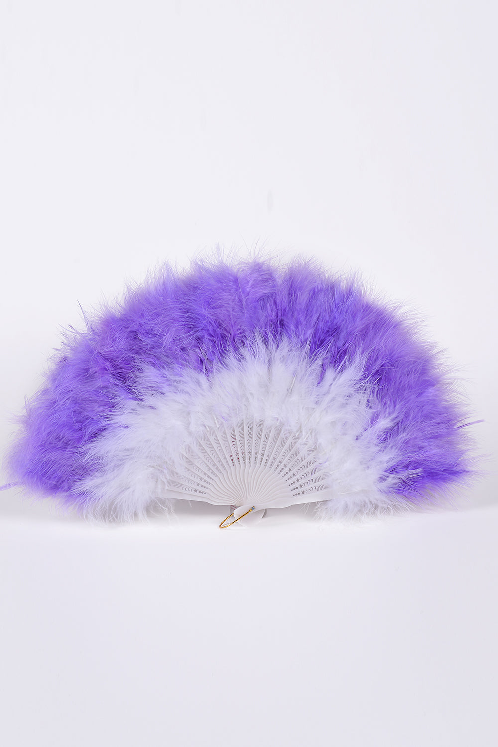 Big Fuzzy Fur Fan - Electric Purple
