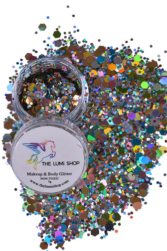 High Quality Hand-mixed Festival Makeup Glitters (Face | Hair | Body) - Festive Blast