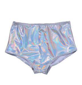 High Waist Bottom - Holographic