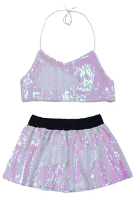 Reversible Sequin Set - Iridescent