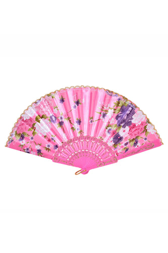 Festival Silk Fan - BB Pink Blossom