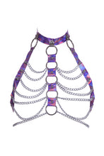 Hologram Chain Harness Halter (3 Colors)