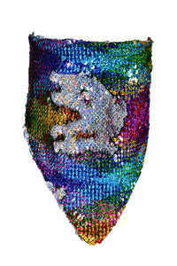 Sequin Bandana & Face Mask - Dreamy Rainbow