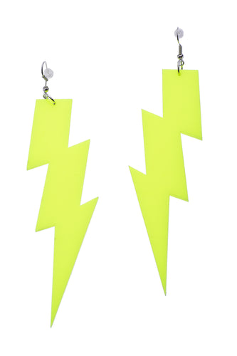 Yellow Flash Earrings