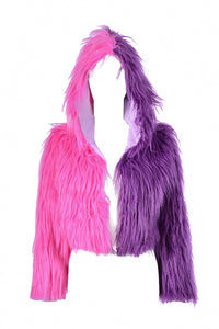 Sugar Babe Faux Fur Jacket
