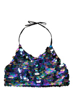 Aura Unicorn Sequin Top & Halter Top (Small Sequins)