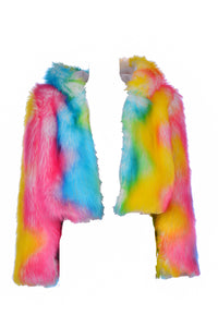Pixie Dream Faux Fur Jacket