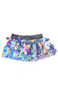 Pastel Meadow Mini Sequin Skirt