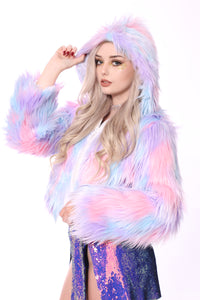 Cotton Cloud Faux Fur Jacket