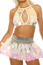 Unicorn Tears Sequin Halter Top