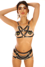 After Night Excision Body Chain & Harness Set Top