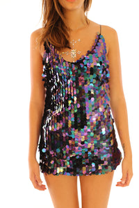 Aura Unicorn One Piece Sequin Dress