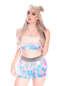 Unicorn Tears Sequin Tube Top