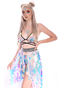 Unicorn Tears Sequin Skirt (Long)