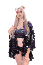 Dark Ocean Goddess Sequin Tube Top