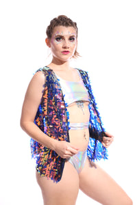 Moon Child Sequin Vest