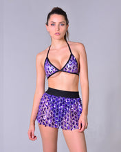 Amethyst Sequin Set (Bra + Skirt)
