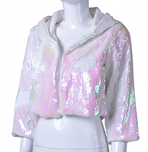 Reversible Sequin Jacket - Iridescent