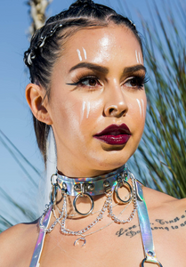 Holographic Hoop Chain Chocker