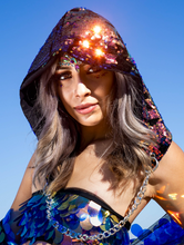 Moon Child Sequin Hood