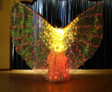 Cotton Clouds Rainbow FLASH LED Butterfly Wings (300 Lights, Batteries Not Included)
