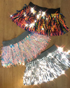 Outer Space Mini Sequin Skirt