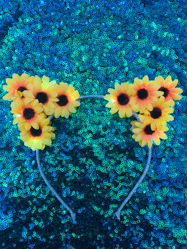 Original LED Ears - Sunflower Kitty