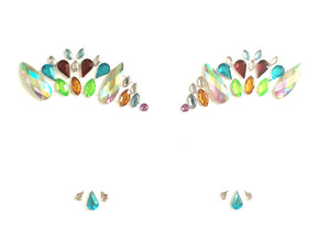 Fruit Party Rhinestone Crystal Face Jewels