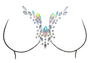 Angel Rhinestone Crystal Body Jewels, Chest Jewels