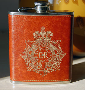 RCT 6oz hip flask