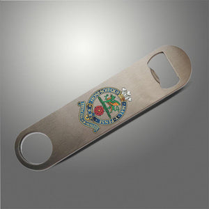 Prince of Wales's Royal Regiment PWRR Bottle Opener / Bar Blade