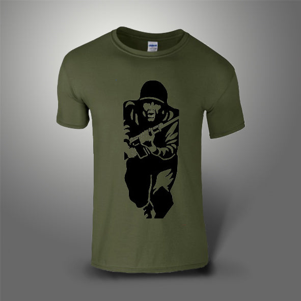 Figure 11 T-Shirt 100% Cotton Military Green
