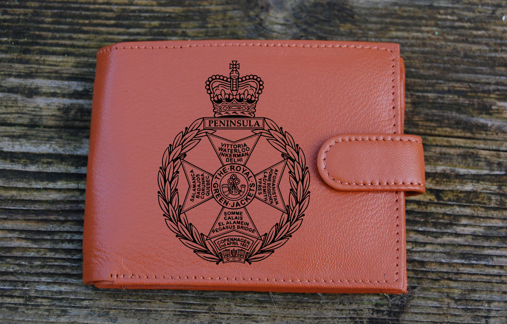 Royal Green Jackets Men's Genuine leather wallet