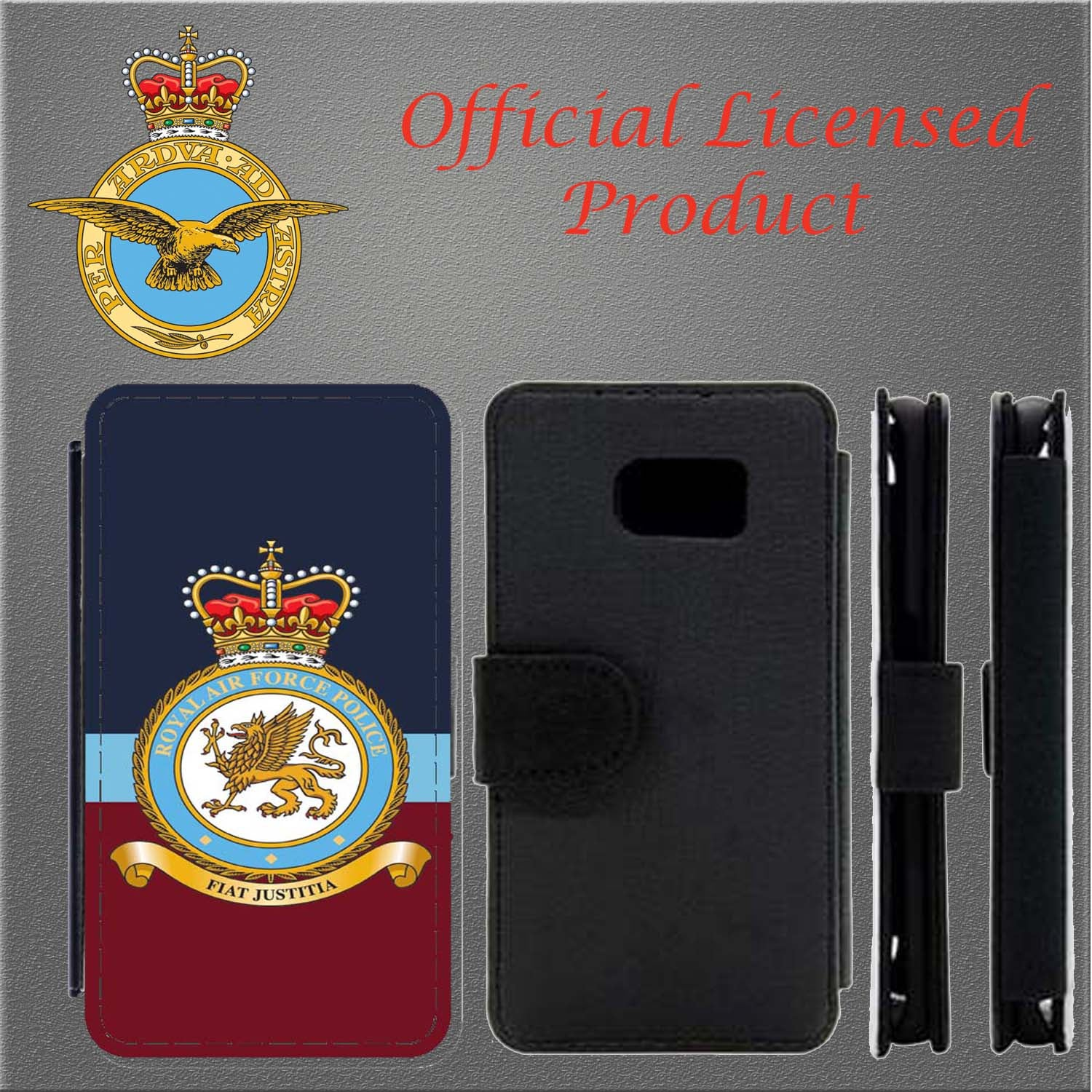 Royal Air Force Police Flip Case Cover Samsung Galaxy Flip Case Phone