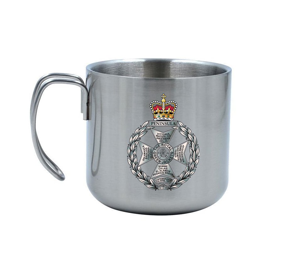Royal Green Jackets Stainless Steel Mug 400ml