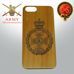 Royal Green Jackets bamboo wood iphone case COVER / 5s / / 6 /