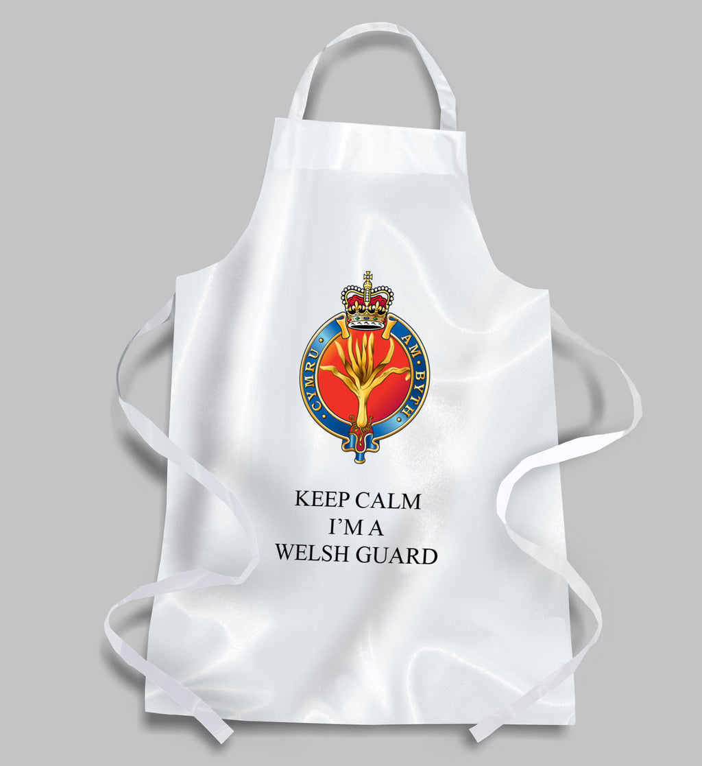 Welsh Guards BBQ Apron KEEP CALM
