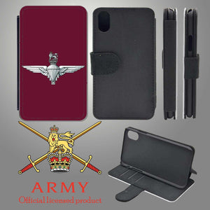 Parachute Regiment iPhone Flip Case Cover
