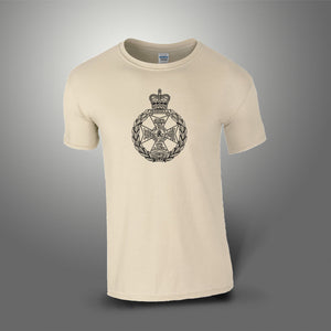 Royal Green Jackets RGJ T-Shirt 100% Cotton Desert Sand