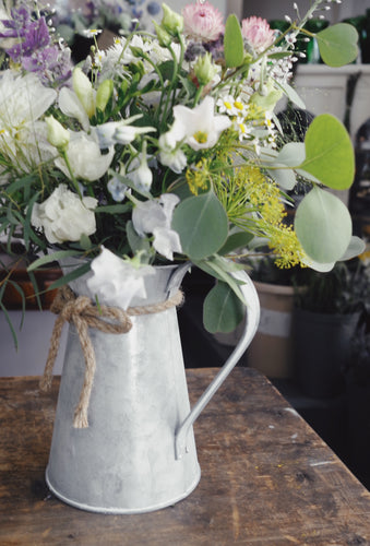 Summer in a rustic jug