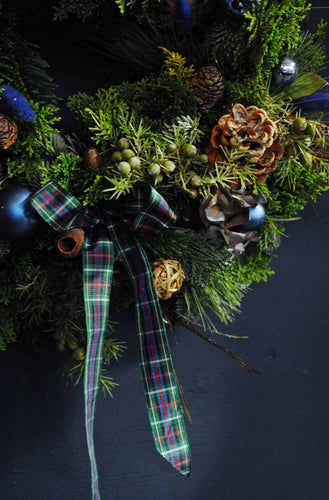 Indigo wreath