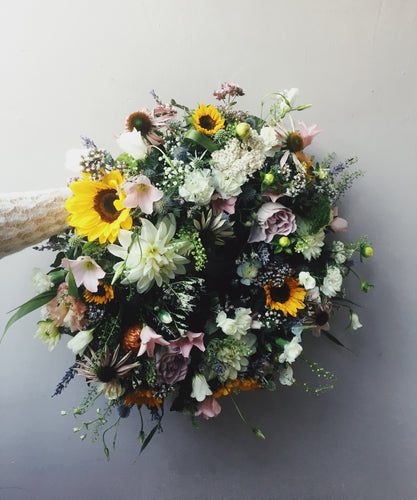 Fresh flower  wreath